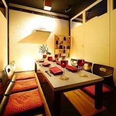 ◆掘り炬燵完全個室~6名様用/部屋によってコンセプトがそれぞれ違う全席個室は飲み会、女子会、記念日などのシーンにもご利用頂けます。