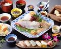 料理メニュー写真いか寿司セット