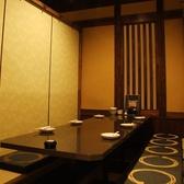 8名様から12名様席です。中人数の団体お客様も、もちろん個室をご用意☆