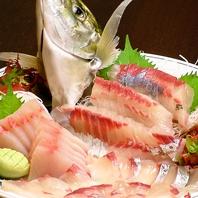 県内産の新鮮な鮮魚をお楽しみください