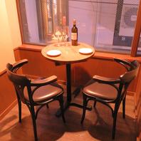 ☆予約必須☆記念日やデートに使えるカップルシート♪