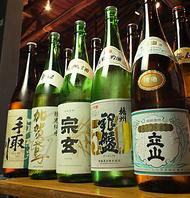 富山や石川から厳選日本酒を取り揃え