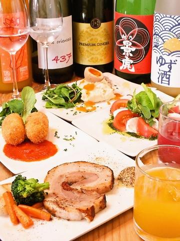 日本酒入門者も大歓迎☆常時30種以上の日本酒を取り揃え!!500円~。