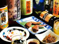 日本酒・焼酎等も豊富!