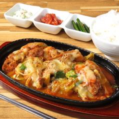 韓国料理専門店 さらんばんのおすすめランチ1