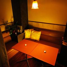 【半個室ソファ席】誰にも邪魔されない秘密女子会・デートにはぴったり♪