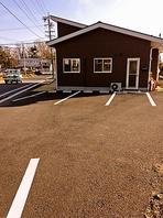 広い駐車場 完備!!