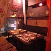エスニックな天蓋で仕切られた半個室★雰囲気満点です。ご予約はお早めに☆045-326-3640横浜店