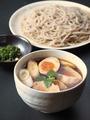 料理メニュー写真静岡いきいき鶏 鶏のつけ汁蕎麦