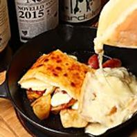 ラクレットチーズもチーズタッカルビもセットできます!