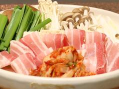 料理メニュー写真豚キムチ鍋(1人前)