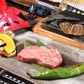 料理メニュー写真A5黒毛和牛の抜刀術( ばっとうじゅつ)