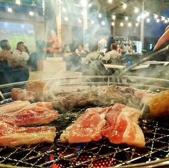 焼肉ビアガーデン シュパッチ 天満屋倉敷店の写真