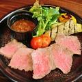 料理メニュー写真富士山岡村牛 絶品ローストビーフ