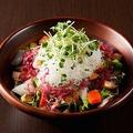 料理メニュー写真海鮮と大根のサラダ