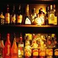 お酒も各種豊富にご用意しております。