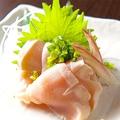 料理メニュー写真水郷赤どりの刺身