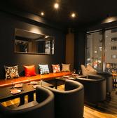 スタイリッシュな空間でおしゃべりに、お食事に・・・