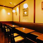 店内の奥のテーブル席は繋げることが出来るので大人数のお客様もご利用いただけます☆【町田 パンケーキ カフェ ランチ 宴会 パーティ】