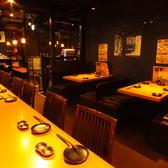 A3 会社の小人数(2名様から4名様の飲み会に最適なテーブル席。ふかふかの椅子が大人気。混雑状況によっては2名様でご利用できない場合があります。
