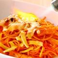 料理メニュー写真逆アルデンテのnurikabe特製ナポリタン