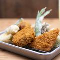 料理メニュー写真本日のおかませ揚げ物盛り5種