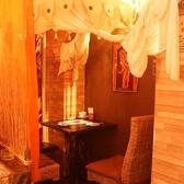 バリ島風の個室