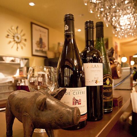 美味しいワインを飲んで気軽にフレンチを♪~新感覚ビストロ~