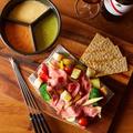 料理メニュー写真メリメロ3色チーズフォンデュ