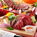 【肉バルセレクトコース】9品+2.5時間飲み放題 3480円