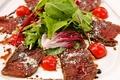 料理メニュー写真ダチョウスモークのカルパッチョ