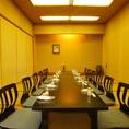 【3階】中宴会に人気の個室。