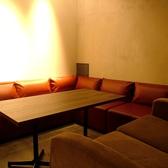 こちらは大人数用のソファ席。