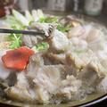 料理メニュー写真名物ふぐちり鍋