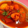 料理メニュー写真エビのスープカレー