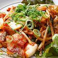 料理メニュー写真キムチ八宝菜/なすの味噌炒め