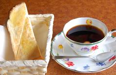 料理メニュー写真トースト無料サービス