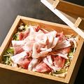 料理メニュー写真雪室熟成豚とこだわり野菜の大判せいろ蒸し