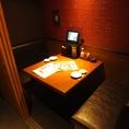 人気の個室席。ご予約はお早めに。【新宿でお食事処、お食事会を実施するお店をお探しなら北海道へ】