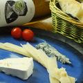 料理メニュー写真チーズ盛合せ