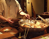 目で見て楽しめる大鍋たち