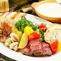 料理メニュー写真チーズフォンデュ (1人前)