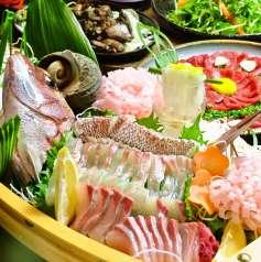 鶏と魚と焼酎の店 まんてんの星 岡山駅前店の特集写真