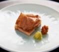 充実の一品料理:黒龍吟醸豚 酒粕漬け焼き