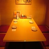 個室席は4名/6名/8名/12名と人数に合わせてご利用頂けます。