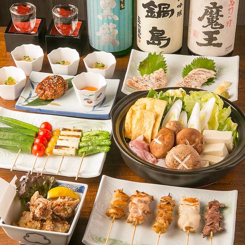 高級鶏を使用した全国の鶏料理と料理に合う日本酒が充実!オシャレな店内でおもてなし