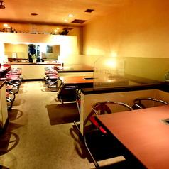 店内改装!4~6名様までのお席が多数。