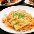 料理メニュー写真焼き冷麺(ソーセージ入り)