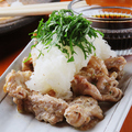 料理メニュー写真鶏ハラミおろしポン酢