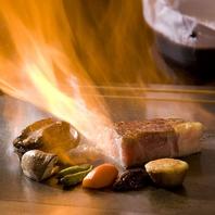 調理過程を楽しめるカウンター席